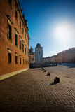 Old town of Warsaw. Castle square Royalty Free Stock Image