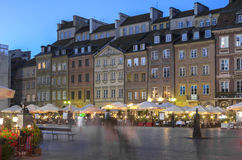 Old Town, Warsaw Royalty Free Stock Image