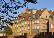 Old Town in Warsaw. It is the oldest architectural monuments of Warsaw. Houses, temples, squares create a historical memory of the city Stock Image