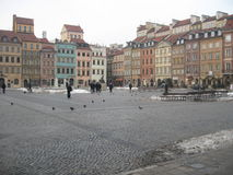 Old town in Warsaw, Poland – 1 Stock Photography