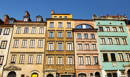 Old Town of Warsaw, Poland Royalty Free Stock Images