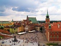 Old town, Warsaw, Poland Royalty Free Stock Photos
