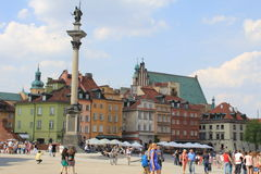 Old Town in Warsaw Royalty Free Stock Photos