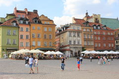 Old Town in Warsaw Royalty Free Stock Image