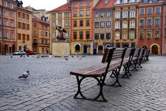 Old Town in Warsaw, Poland royalty free stock photography