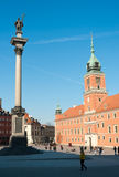 Old town in Warsaw, Poland. Stock Photography