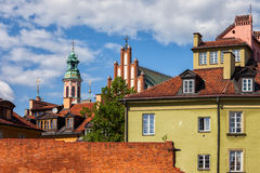 Old Town of Warsaw in Poland Stock Photo