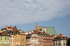 Old Town, Warsaw, Poland Stock Photography