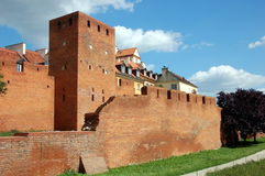 Old town in Warsaw, Poland Stock Photography