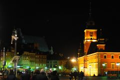 The old town in Warsaw, Poland Royalty Free Stock Photography
