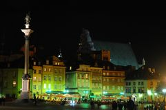 The old town in Warsaw, Poland Royalty Free Stock Image