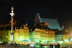 The old town in Warsaw, Poland Royalty Free Stock Photos