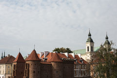 Old Town, Warsaw, Poland Royalty Free Stock Images