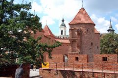 Old town in Warsaw, Poland Royalty Free Stock Photo