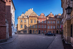 Old Town in Warsaw Royalty Free Stock Images