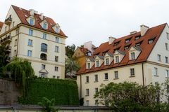 Old town in Warsaw. Old town, urban, home, house, street was amazing Royalty Free Stock Images
