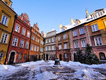 Old Town in Warsaw Royalty Free Stock Photo