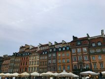 Warsaw City Center Royalty Free Stock Images