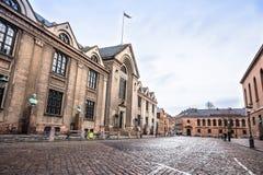 Old Town in winter. Copenhagen, Denmark Royalty Free Stock Photography