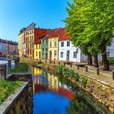 Old Town of Wismar, Germany Stock Image