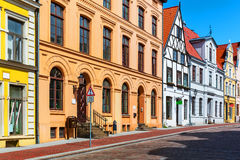 Old Town of Wismar, Germany Royalty Free Stock Photo