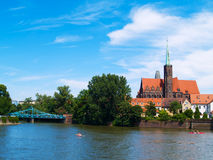 Old town of Wroclaw, Poland Royalty Free Stock Images