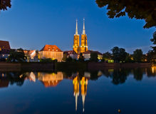 Old town of Wroclaw, Poland Stock Photography
