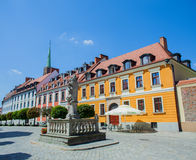 Old town Wroclaw, Poland Royalty Free Stock Photos