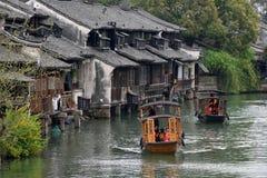 Old Town of Wuzhen Royalty Free Stock Photos