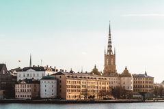 Old Town (Gamla Stan) in Stockholm, Sweden Royalty Free Stock Photo