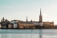 Old Town (Gamla Stan) in Stockholm, Sweden Royalty Free Stock Image