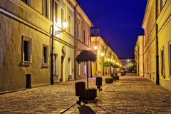 Old Town in Zamosc Stock Photos