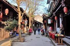 Old Town of Zhouzi Royalty Free Stock Photo