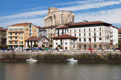 Old town of Zumaia Royalty Free Stock Photos