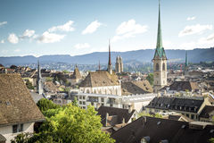 Old town of Zurich Stock Photo