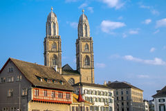 The old town of Zurich Stock Photography
