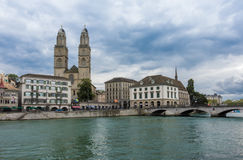Old town of Zurich, Switzerland Royalty Free Stock Photo