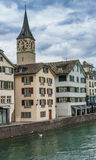 Old town of Zurich, Switzerland Stock Images