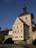 Old townhall. The old town hall of Bamberg in Germany royalty free stock photo