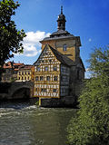 Old townhall in bamberg Royalty Free Stock Photography