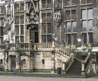 Old townhall building in aachen Royalty Free Stock Photos
