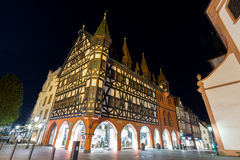 Old townhall fulda germany in the evening Stock Photography