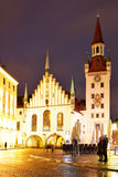 Old Townhall in Munich Royalty Free Stock Photography