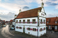 Old townhall of Schoeppingen in Muensterland, Germany Stock Photography