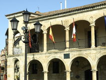 Old townhall in Zamora Stock Image