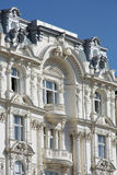 Old Townhouse with balcony. Building in art nouveau in Vienna Royalty Free Stock Photos