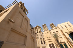 Old townhouses in Dubai United Arab Emirates Royalty Free Stock Photography