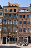 Old townhouses in Warsaw Stock Photography
