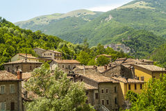 Old towns along the Salaria road Stock Photography
