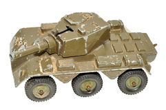 Old Toy Armoured Car Stock Photo